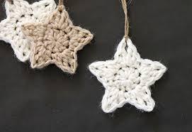 crochet stars free ornament pattern persia lou