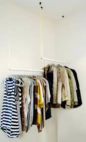 wardrobes hanging clothes closet hanging closet rod from sloped
