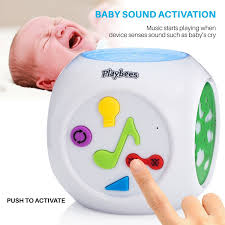 baby light and sound machine playbees baby sound machine projector night light sound activated