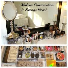 bathroom makeup storage ideas makeup organization and storage ideas storage storage