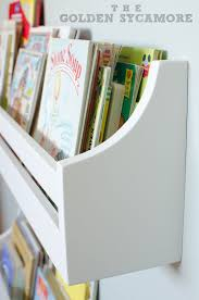 Childrens Wall Bookshelf Wall Mounted Bookshelves The Golden Sycamore