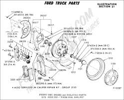 ford truck technical drawings and schematics section b brake