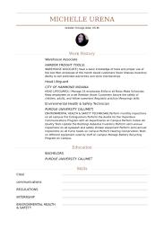 Lifeguard Resume Sample by Warehouse Associate Resume Samples Visualcv Resume Samples Database