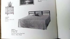King Cherry Headboard Barker Queen Full Tufted Upholstered Headboard Fullqueen