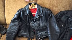 best leather motorcycle jacket vintage leather motorcycle jackets buco hercules sportclad youtube