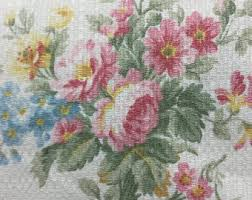 Shabby Chic Upholstery Fabric by Beautiful Floral Upholstery Fabric 90 U0027s From Lollythimble On