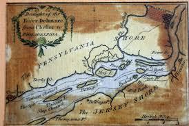 Philadelphia Pa Map 1775 To 1779 Pennsylvania Maps