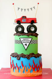 monster truck the completed cake part 3 or 3 jessica harris