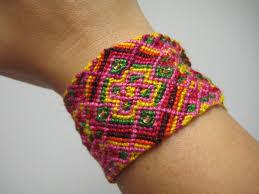 diamond bracelet friendship images 40 strand beaded diamond x pattern micro macrame by tawnybee on zibbet JPG