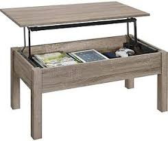 space saving end table mainstays lift top coffee table sonoma oak storage furniture wood