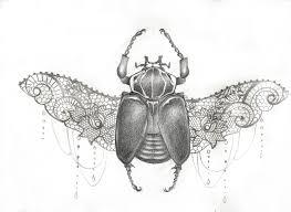 beetle tattoo crayon julien pont flickr