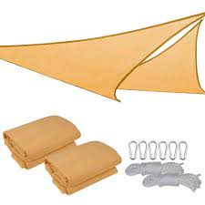 Triangular Patio Awnings Outdoor Patio Triangle Sun Sail Shade Collection On Ebay