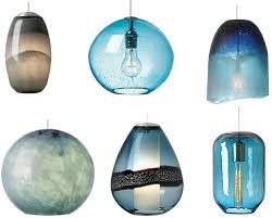 Blue Light Fixture Unique Lighting Delo Design