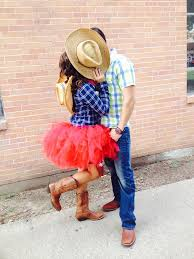 cowboy and cowgirl costume adorable halloween ideas