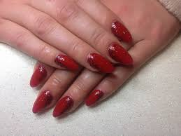 33 red acrylic nail designs black and red acrylic nails makeup n