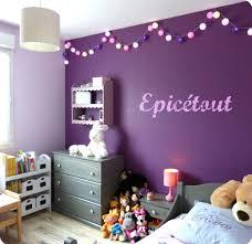 chambre violet et chambre fille mauve et gris idees inspirations et déco chambre
