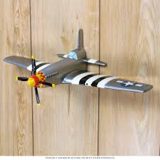 p 51 fighter airplane wwii 3d resin wall art gameroom wall decor