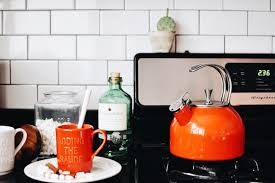 Orange Kettle And Toaster Cocktails With Kate Spade New York Lauren Stephanie Wells