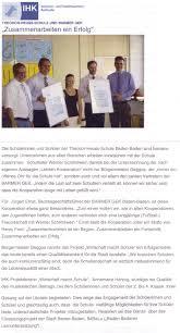 Ga Tec Baden Baden Theodor Heuss Schule Wirtschaft Macht Schule