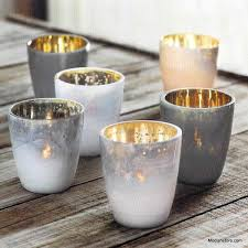 roost mineral tealight holders set of 12 modish store