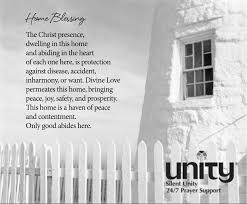 blessing for the home home blessing unity