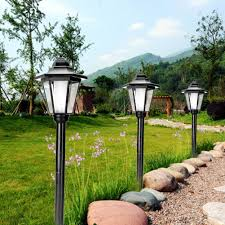 Solar Powered Address Light by Aliexpress Com Buy European Style Solar Power Led Lawn Lamps