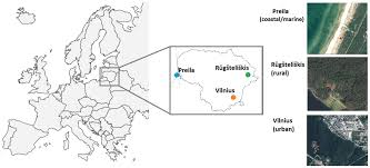Map Of Lithuania Atmosphere Free Full Text Spatial And Temporal Analysis Of