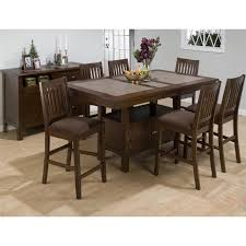 dining room counter height dining sets with leaf butterfly leaf