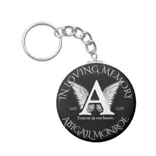 in memory of keychains memory keychains zazzle