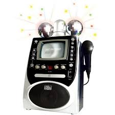 singing machine with disco lights singing machine disco lights cdg karaoke system sml390 walmart com