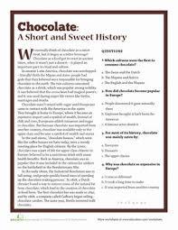 the history of chocolate fourth grade hispanic heritage month