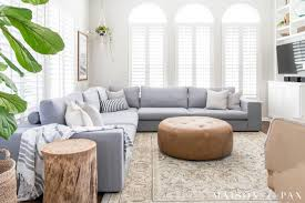 livingroom sectional designing a small living room with a large sectional maison de pax
