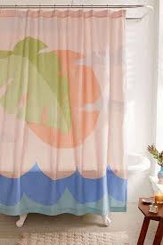 Beachy Shower Curtains Gifts For Who Basically Live At The Brit
