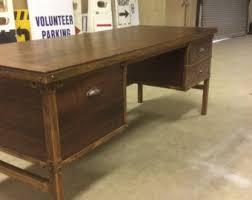 reclaimed wood desk etsy