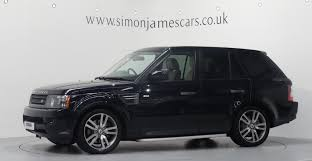 dark blue range rover range rover sport 3 0 tdv6 hse finished in buckingham blue youtube
