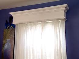 How To Sew Valance Weekend Projects Construct A Homemade Window Valance Hgtv
