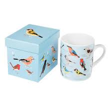 garden birds mug in a gift box dotcomgiftshop