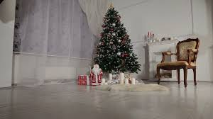 Home Interiors And Gifts Pictures by Living Room Christmas Scene With Presents Stock Video Footage