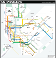 New York Submay Map by Futurenycsubway V3 U2013 Vanshnookenraggen