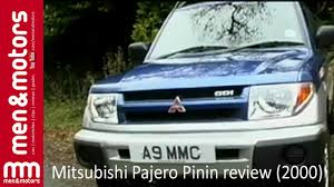 mitsubishi pajero 2000 mitsubishi pajero pinin review 2000 youtube