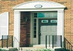 Exterior Door Pediment And Pilasters Lovely Front Door Pediments Exterior Door With Sunberst Pediment