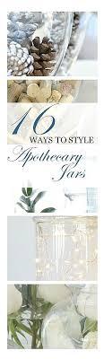 bathroom apothecary jar ideas best 25 apothecary jars decor ideas on