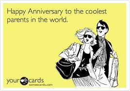 anniversary ecard anniversary ecard happy anniversary to the coolest parents