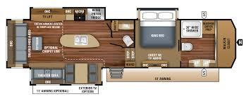 cougar floor plans montana 3950br mid bunk floor plan office u0026 bunk 41 u0027 no os