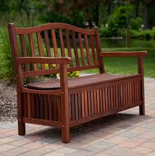 diy outdoor bench with storage cushion and back seat ideas loversiq