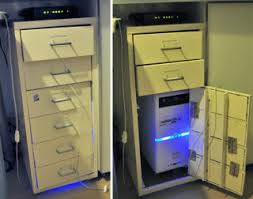 cabinet for pc create a diy cpu housing with an ikea helmer filing cabinet