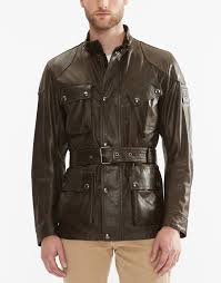 brown motorcycle jacket belstaff coats and jackets on sale belstaff the panther jacket