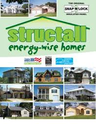 16 x 16 cabin structall energy wise steel sip homes structall residential commercial catalog by structall building