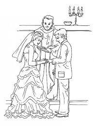 dessin mariage dessin mariage gratuit coloriage a imprimer celebration de