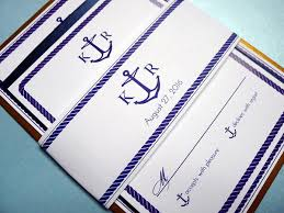 Wedding Invitations Nautical Theme - custom wedding invitations nyc wedding stationery pretty